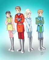 KOTOR- WWWY Cast Young Masters by MaskedSugarGirl