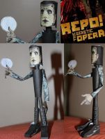 Pavi Largo from Repo! Papercraft figure by ViluVector