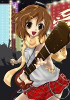 Yui_let's rock by Ninou24