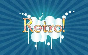 Retro Wallpaper by Sandien