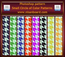Small Circle of Color Patterns by nisanboard