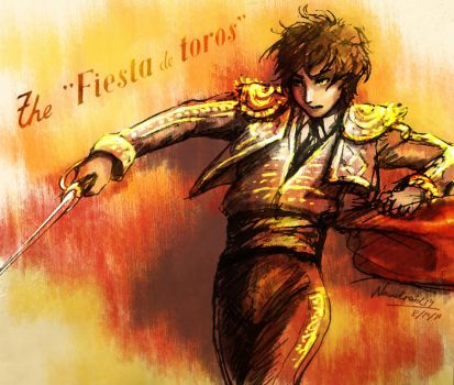 APH Spain the Matador by nAndroid19