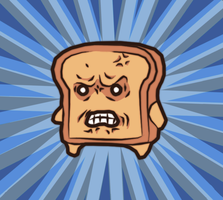angry toast by S--F