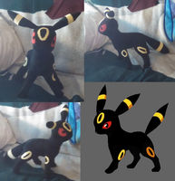 Umbreon Plush Version Two by lokiie1984