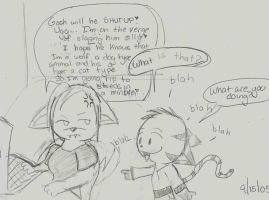 XS Fan Comic:The Annoyance by Sylladexter