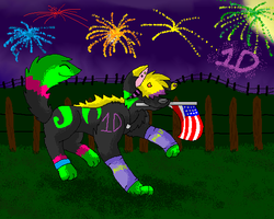 Happy 4th of July by huskynugget