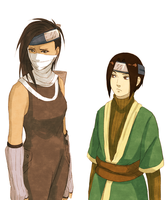 Zabuza and Haku genderbend by steampunkskulls