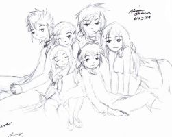 Family Picture by The-Child-of-Heart
