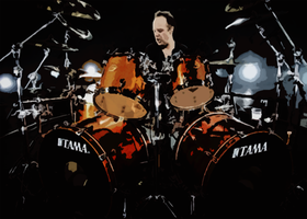 Lars Ulrich by K-liss