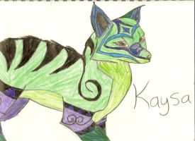 Kaysa by WerecatWarrior