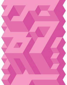 Pink Tessellation by Humble-Novice