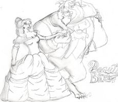 Beauty and the Beast by EveHarding92