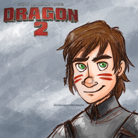 Hiccup HTTYD2 by ilcielocapovolto