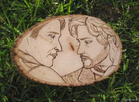 Hannibal Freehand Wood Engraving by Teddybear-93