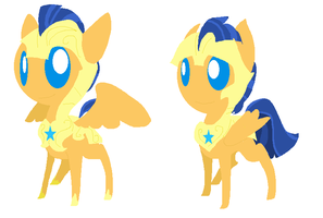 Flash Sentry And Twinkle Scout by angelstar000