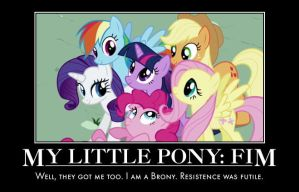 My little Pony Fim Motivational by jswv
