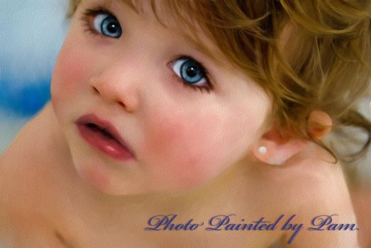 Baby Blue Eyes by PamsPixls