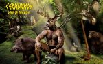 Cernunnos: Lord of the Wild by JohnnyFreedom