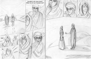 24HCD - The Desert Pirate, Act II, Pages 5+6 by Kataoi