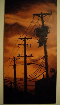 Telephone Poles by pulse-