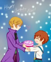 Happy Birthday Alois by naokokaoru21