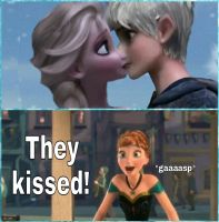 Anna ships Jelsa by MaidenInTheWoods
