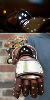 Steampunk Explorer's Gauntlet by CraftedSteampunk