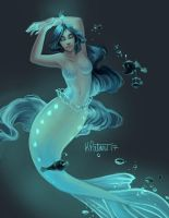 Angler Mermaid by KPatoni