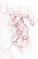 Amazing Spider-man Pencils by ParisAlleyne