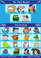 Deviants Crossover Olympics 2013 (now full) by LaptopGeek