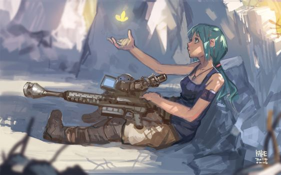 Soldier Miku by tommy830219