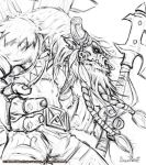 Cairne Bloodhoof Drawing by Arsenal21