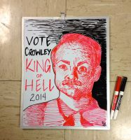 Crowley for King White Board by allistella