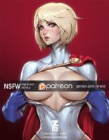 Powergirl NSFW by ZeroNis