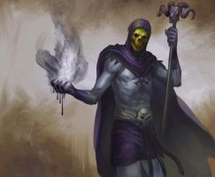 Skeletor by Odinoir