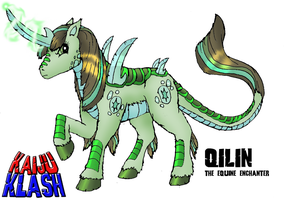 Qilin: The Equine Enchanter by FiftyFootWhatever