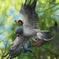 Pigeon Hunt by Ciameth