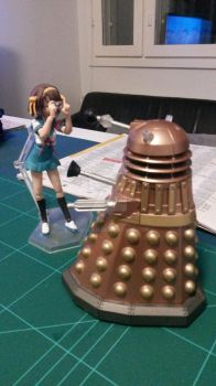 Suzumiya found an alien to hang out with by dugglien