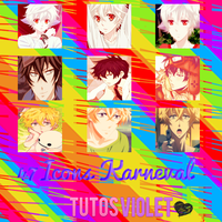47 Karneval Icons by TutosViolet