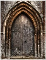 Church Door HDR by Edam