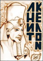 Akhenaton by Insanemoe