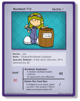 KND Card: Numbuh 712 by OrionStorm