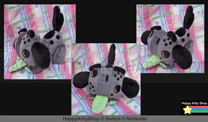 Switch Pup Plush by QueenBeePlush