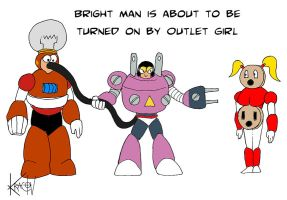 Bright Man meets Outlet Girl by Kracov