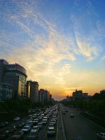 Unusual Skies: Beijing by SniperOfSiberia