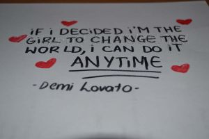 Demi Lovato's Quote by HeartANGELfied