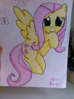Fluttershy Drawing by RainbowKitty12