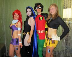 Fanime'12: Teen Titans by theEmperorofShadows