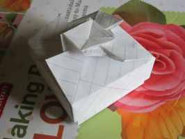 Origami Gift Box by NikkitheNinja