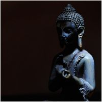 Buddha in the dark by MissUmlaut